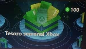 Microsoft rewards - Tesoro semanal