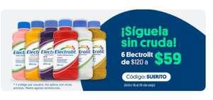 JOKR: Suero Electrolit 6 pack ($9.83 c/u)