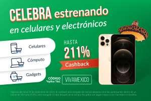 UnDosTres: desde 5% hasta 211% de cashback en Doto y Xiaomi