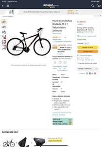 Amazon: Bici rodado 29 cambios shimano