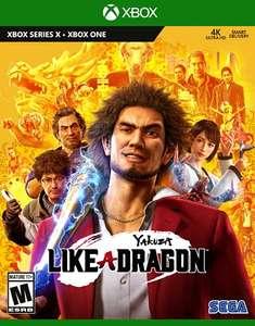 Amazon xbox Yakuza Like a Dragon edicion de dia uno