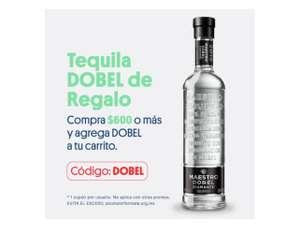 JOKR Gasta $600 gratis botella de tequila Maestro Dobel