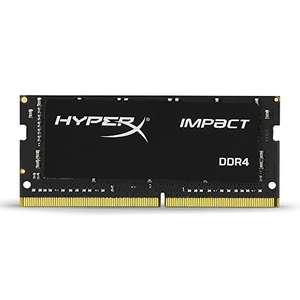 Amazon: HyperX RAM Impact 8GB 2666Mhz DDR4 CL15 SODIMM Gamer Memoria Para LAPTOP