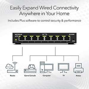 Amazon: Switch Netgear gigabit 8 puertos - Administrado
