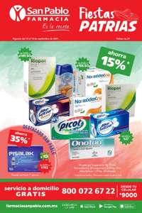 Farmacias San Pablo: Ofertas vigentes al Sábado 18 de Septiembre