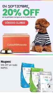 CuidaMiMascota: NUPEC 10% + 20% cupón + Regalo