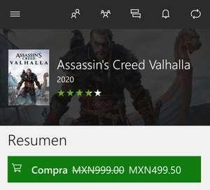 Xbox: A.C Valhalla standard (digital)