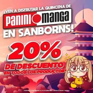 Sanborns: Panini al 20% de descuentos en todos sus productos