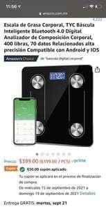 Amazon: Báscula inteligente