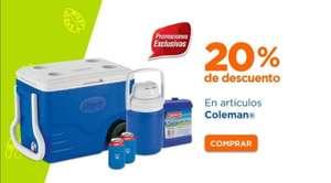 Chedraui: 20% de descuento en toda la marca Coleman