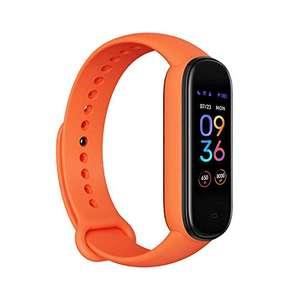 Amazon: Amazfit Tracker Band 5 - Naranja