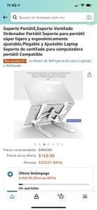Amazon: Oferta relámpago Soporte para laptop