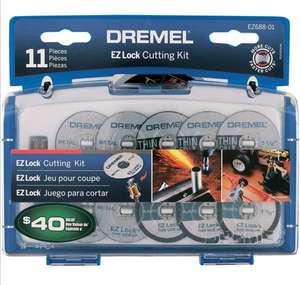 Amazon Dremel Ez Lock Juego para cortar plástico y metal, 11 piezas