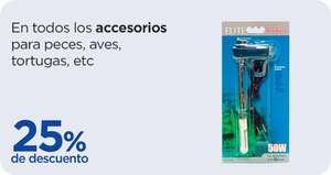 Chedraui: 25% de descuento en todos los accesorios para peces, aves, tortugas, etc