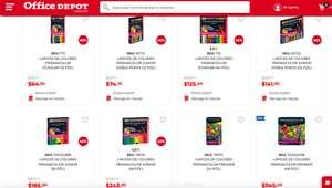 Office Depot: 40% de descuento en prismacolor junior