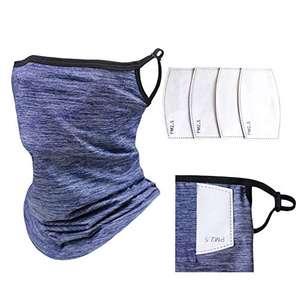 Amazon - Bandana - Pañuelo para la cara, pasamontañas para el cuello y la boca de verano para cubrir la diadema para hombres y mujeres