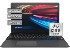 "Amazon: Laptop, Gateway 15.6"" 1080p, i5-1035G1, 16GB RAM, 256GB SSD"