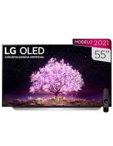 Liverpool: Pantalla LG OLED Smart TV de 55 pulgadas 4K/Dolby Atmos OLED55C1PSA
