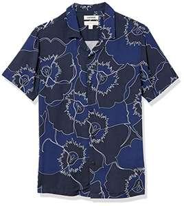 Amazon: Goodthreads Camisa Hawaiana de Manga Corta con Cuello de Campamento (CH)