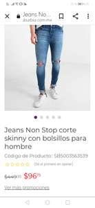 SUBURBIA ON LINE: jeans non stop tallas 32 y 34 en 96.75