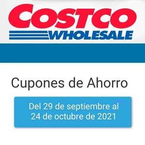 Costco: Cuponera del 29 de septiembre al 24 de octubre de 2021