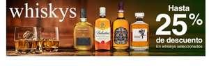 Hasta 25% de descuento en whisky seleccionados. Costco.