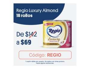 JOKR: 18 rollos REGIO Luxury a $69