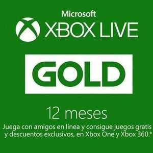 Cdkeys: 12 Meses Xbox Live GOLD