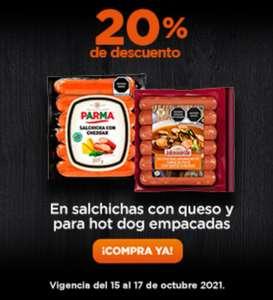 Chedraui: 20% de descuento en salchichas con queso y para hot dog empacadas