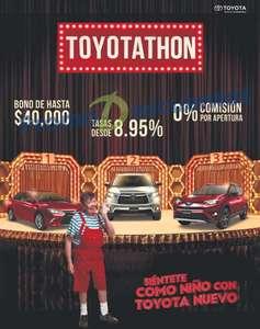 Toyotathon y promociones del Buen Fin 2016 en Toyota