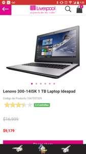 Liverpool: laptop Lenovo 300-14ISK Core i7, 1TB, 8 RAM