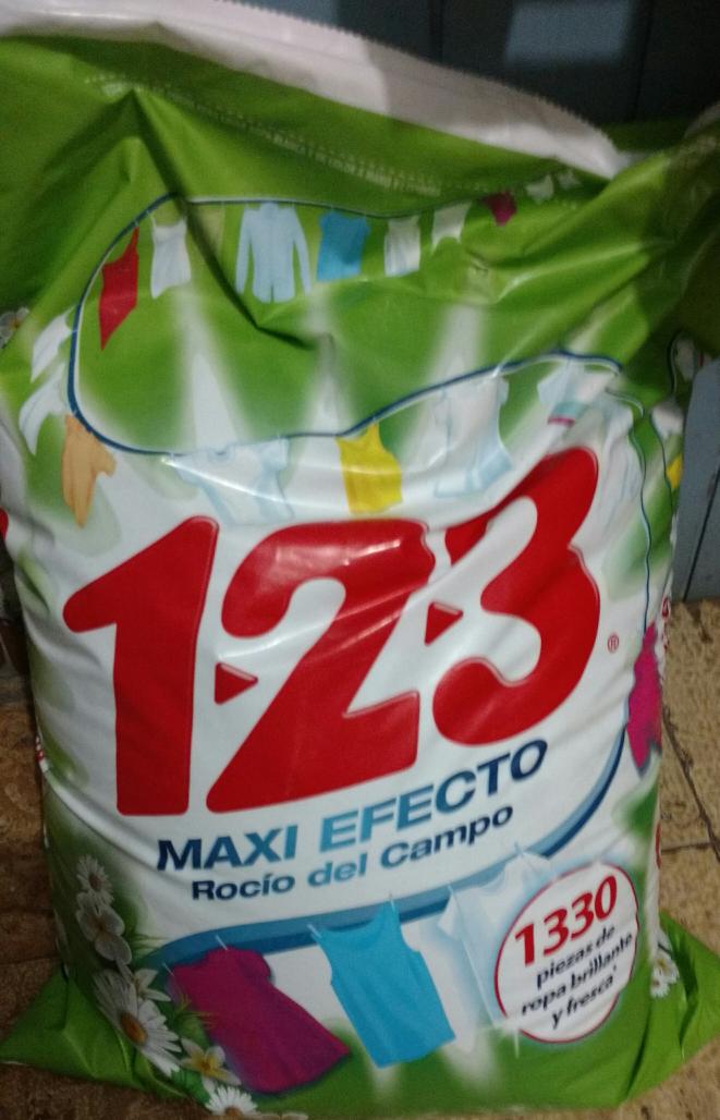 Sam's Club civac: detergente 123 de 10 kilos
