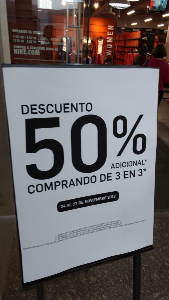 Nike Outlet Citadella San Luis Potosí: 50 por ciento comprado 3 articulos