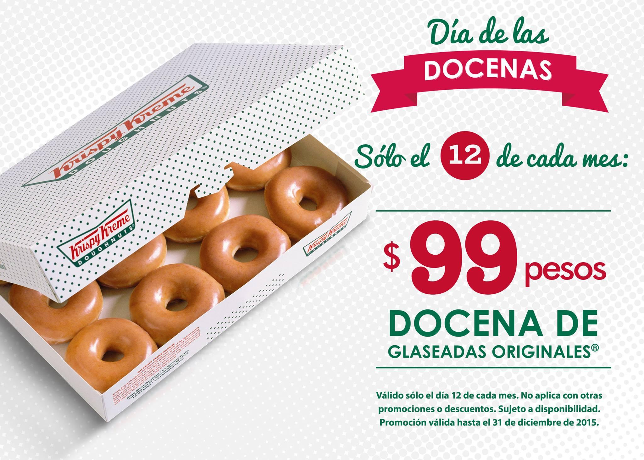 Krispy Kreme: Día de las docenas.