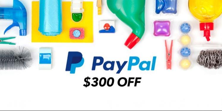 Cornershop: $300 off pagando con PayPal por 1ra vez