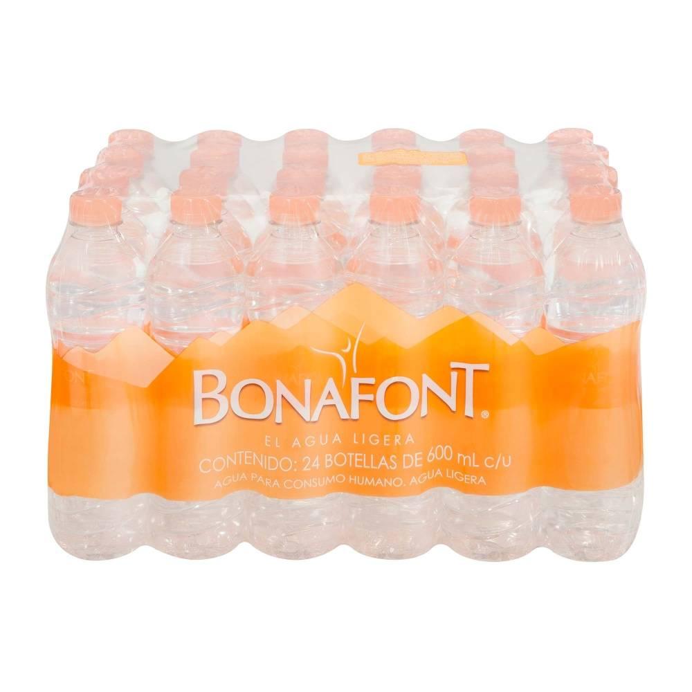 Sam's Club: Agua bonafont 600ml 24 pcs, 2x$149