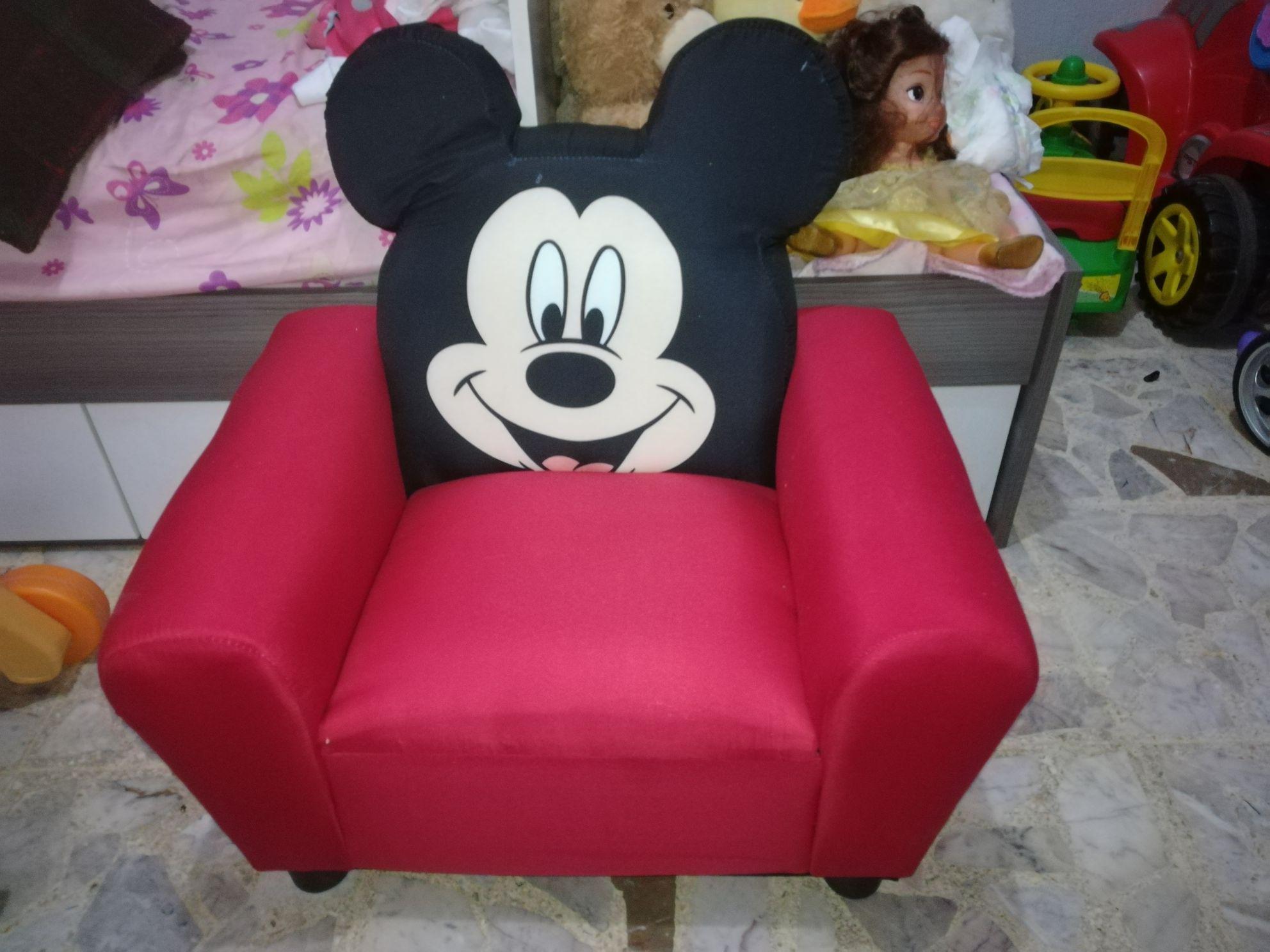 Walmart: Sillón Mickey Mouse liquidación