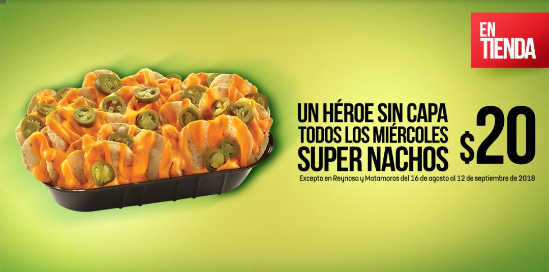 7 Eleven: Miercoles Super Nachos. Con Mucho queso!!