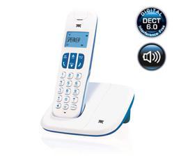Tienda Telmex : Teléfono inalámbrico Atlinks Delta 180 Azul