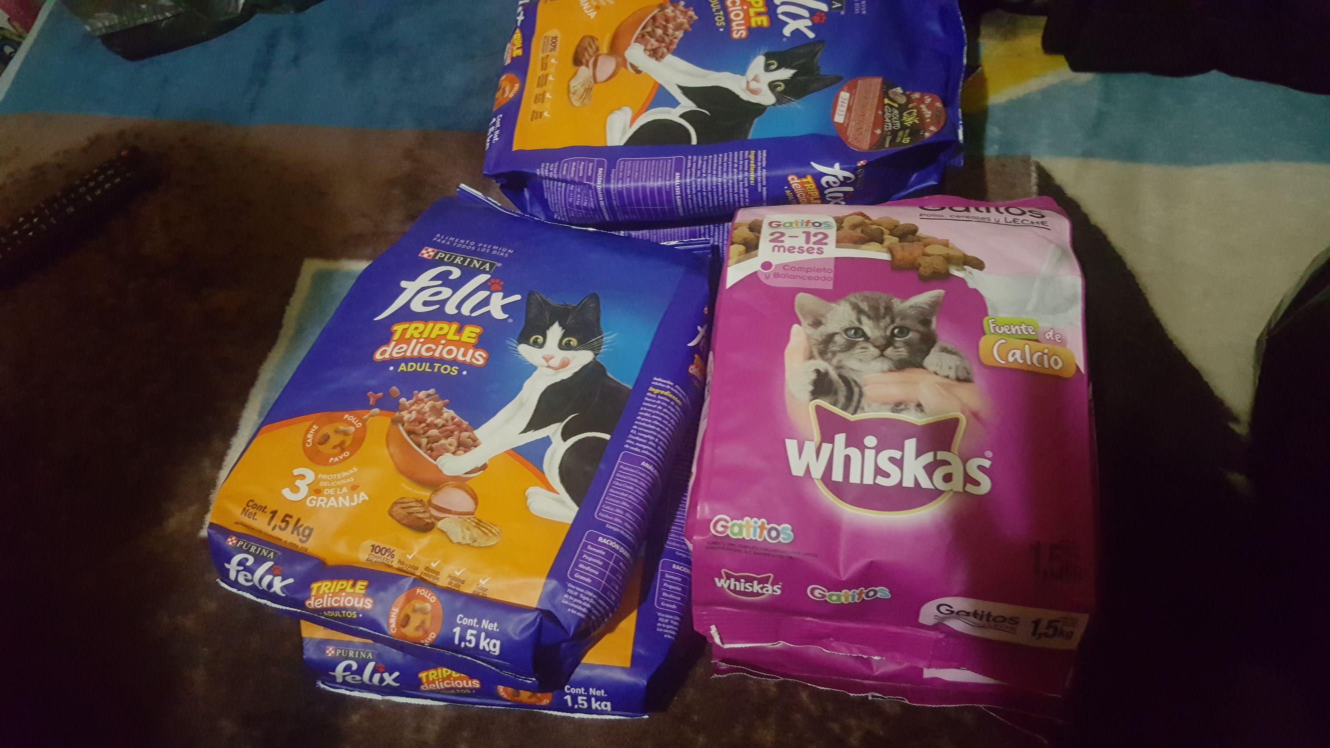 Bodega Aurrerá: Whiskas gatito 1.5 Kg $40.03