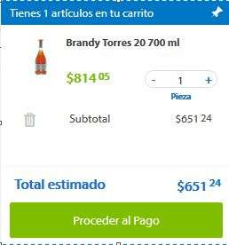 Sam's Club: Brandy Torres 20 de 700 ml