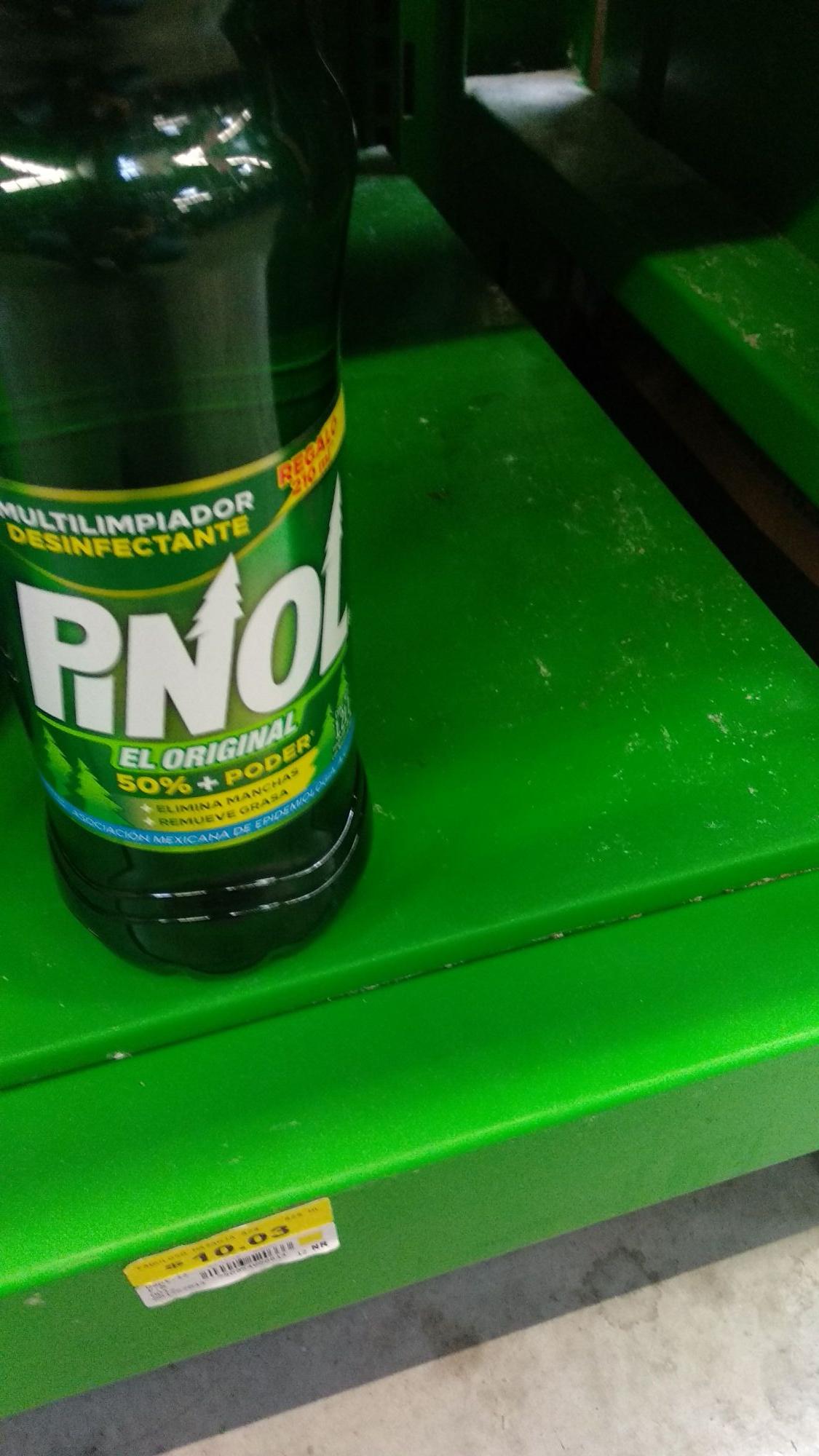 Bodega Aurrerá: Limpiador Pinol 1.2lts a $10.03 y mas