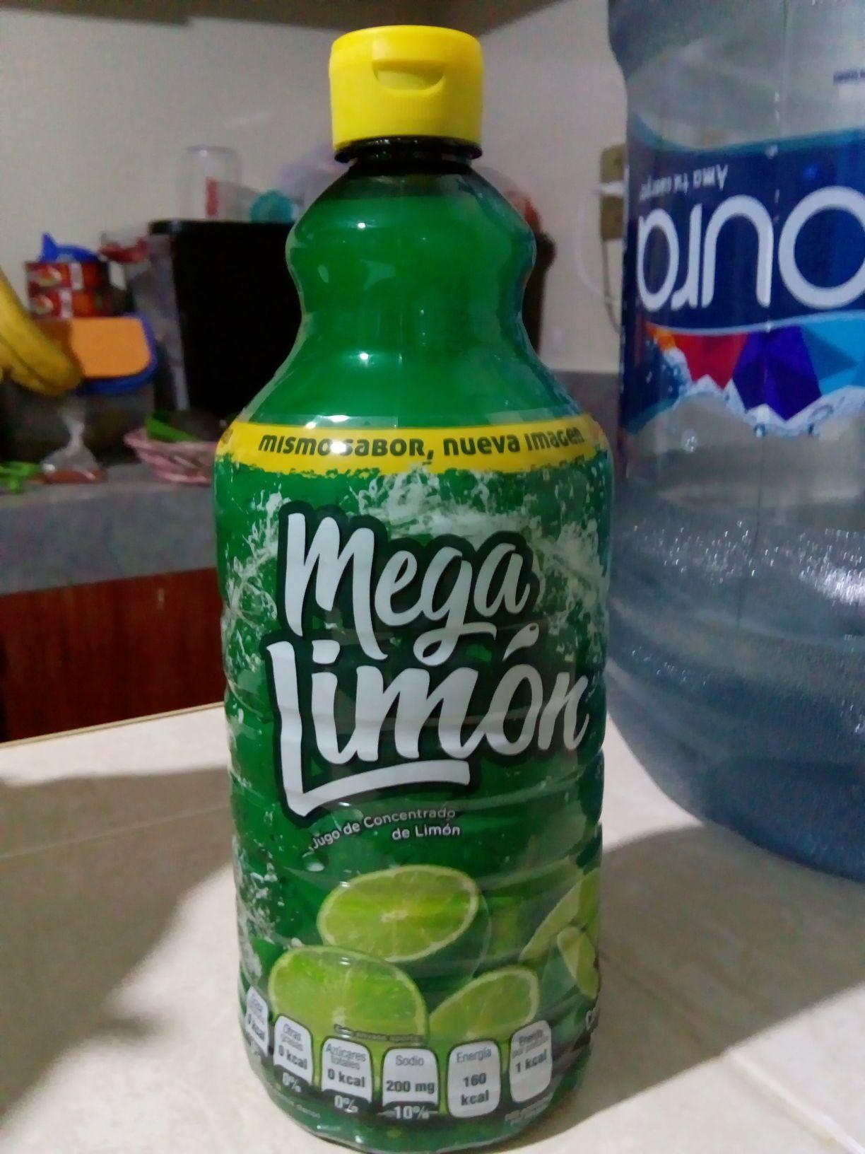 Bodega Aurrera: Mega Limón, jugo concentrado