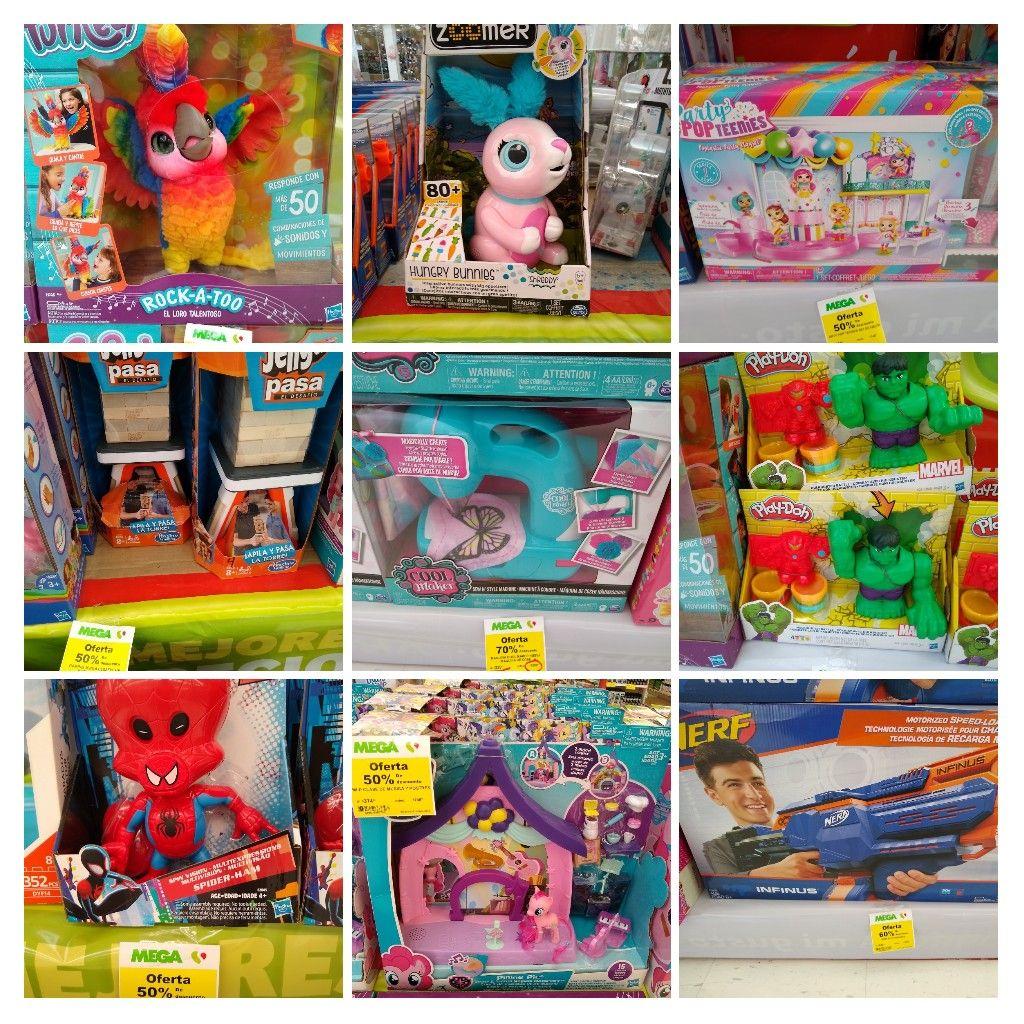 MEGA Soriana: Recopilación de juguetes con descuento del 50% al 70%