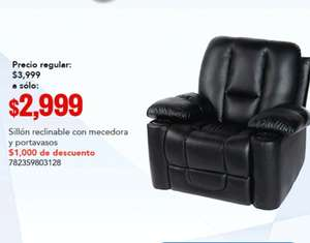 City Club: sillón reclinable con mecedora
