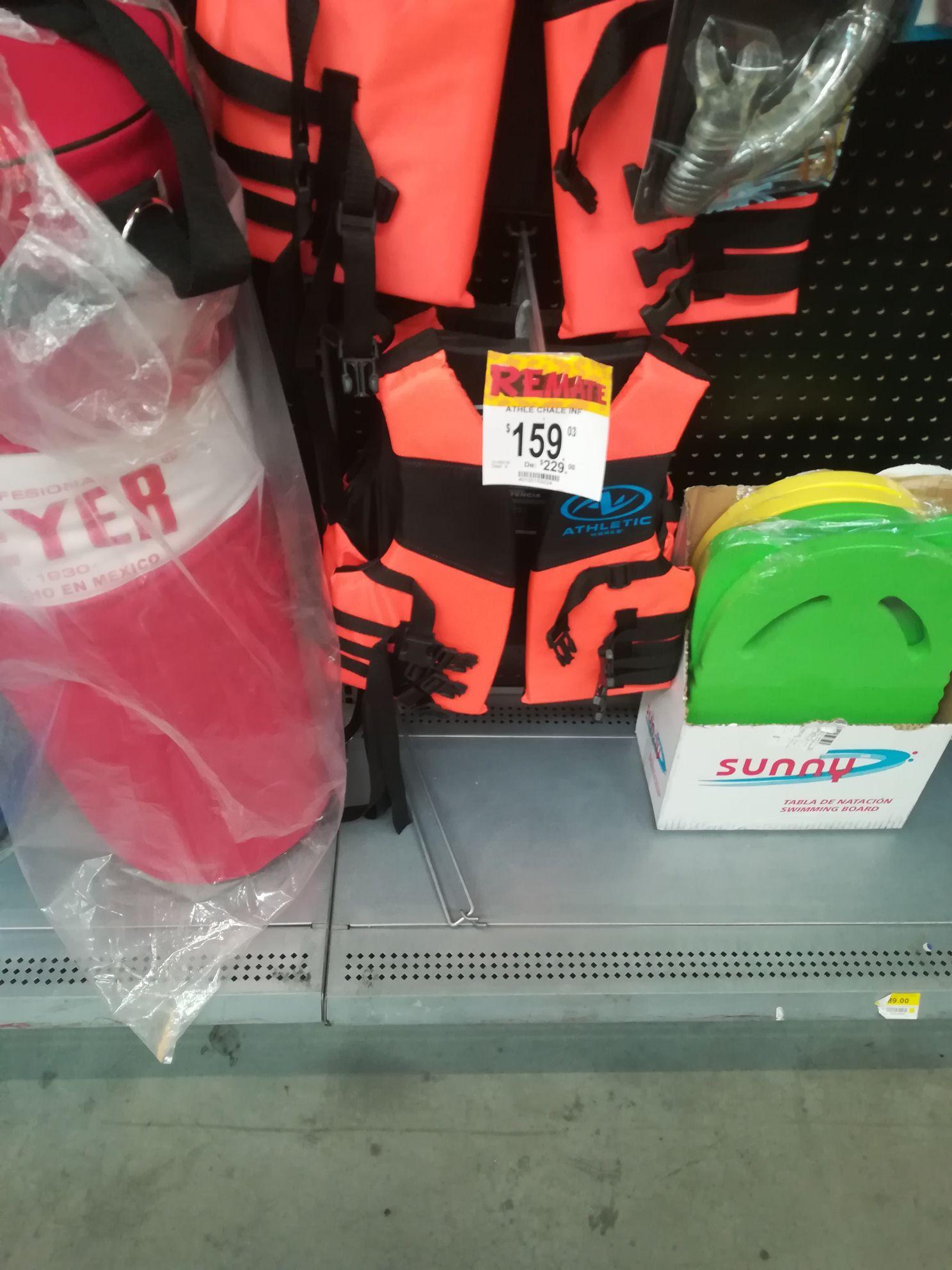 Bodega Aurrera: Chaleco salvavidas para niños . Puebla