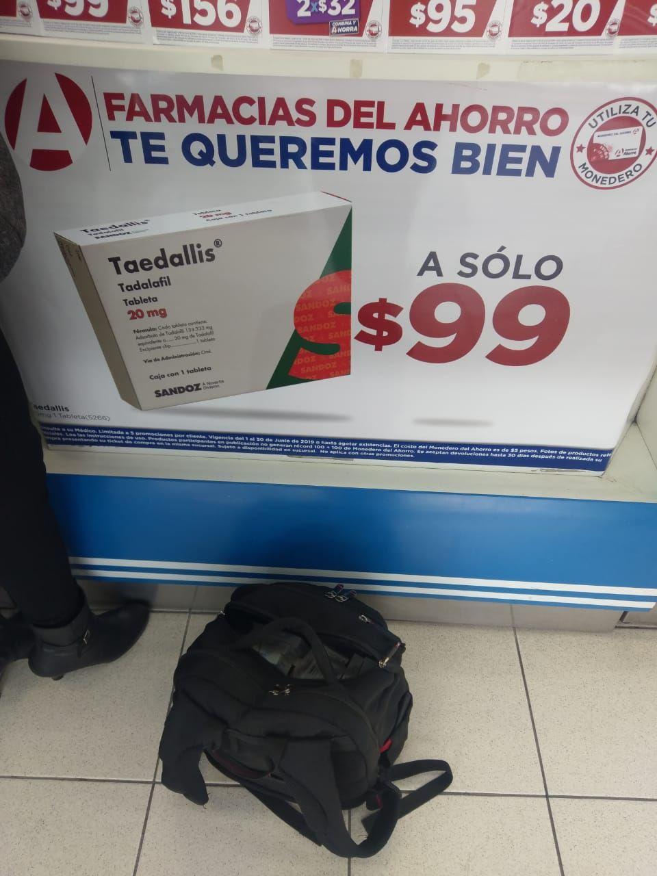 Farmacias del Ahorro: Taedallis  (Cialis- Tadalafil)  2x99 pesos