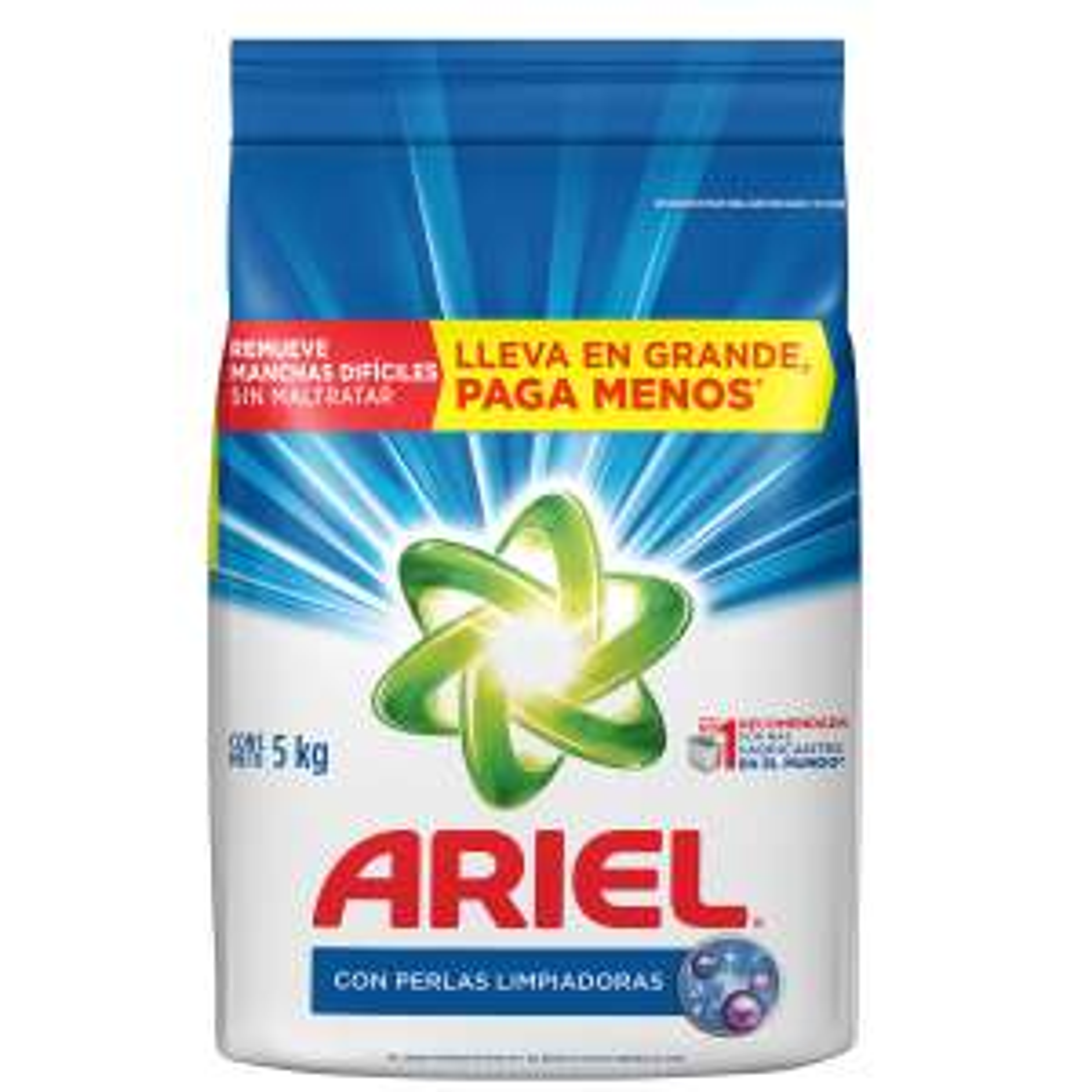 Chedraui: Detergente Ariel de 5 Kg