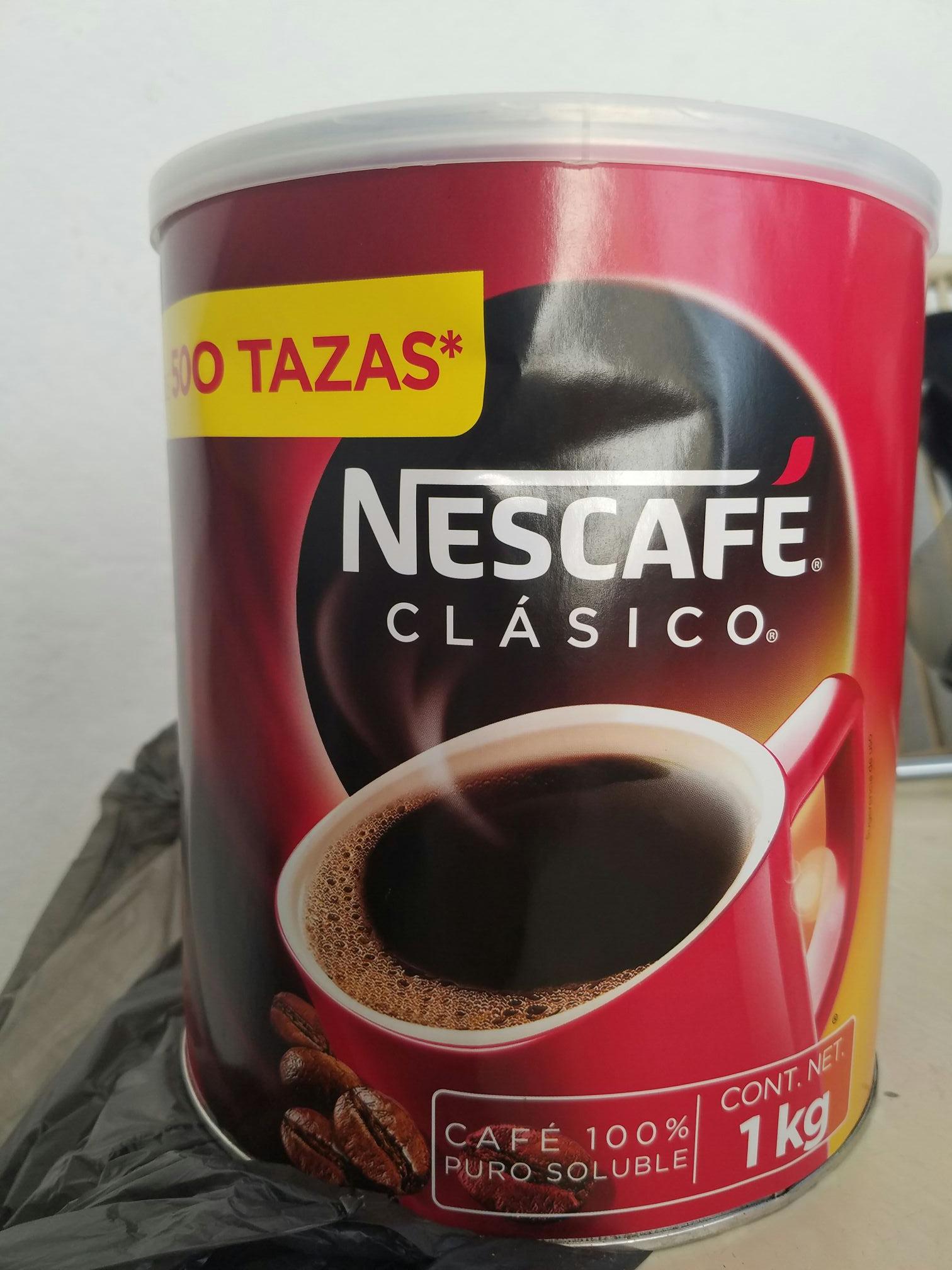 Bodega aurrera: Nescafe 1Kg