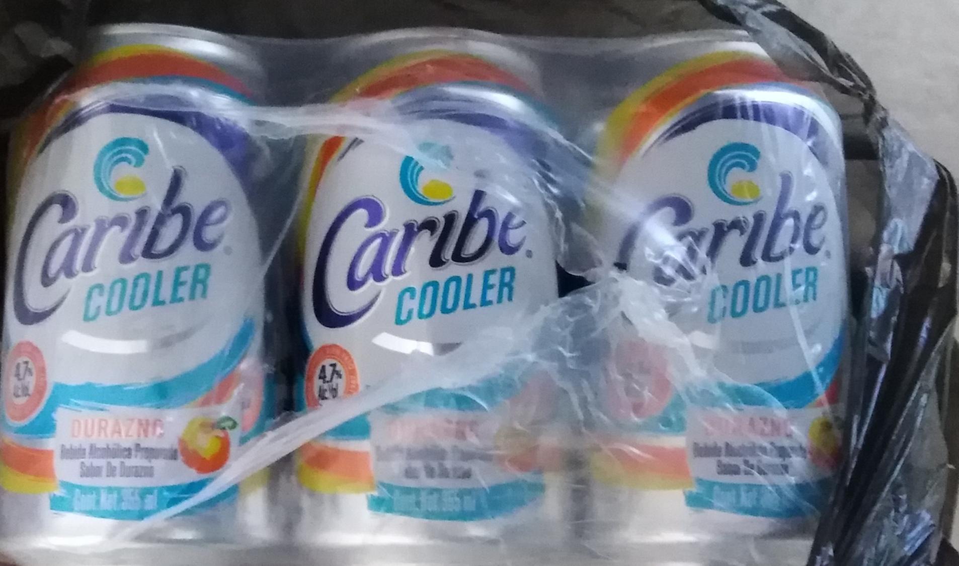 Bodega Aurrerá: Caribe cooler durazno 5 pesitos